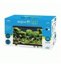 Kit Aqua 60 Plus Led 65 litros Negro