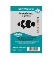 Gamma Artemia Con Spirulina Congelada 100 gramos