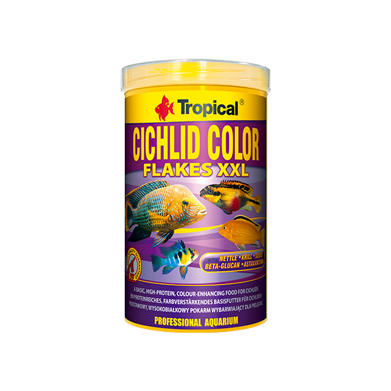 Tropical Cichlid Color Flakes 250 ml
