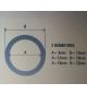 Manguera antracita 12/16 mm (1 metro)